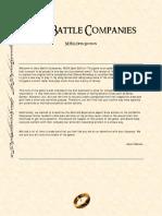 Hero Battle Companies - NOVA Open Edition