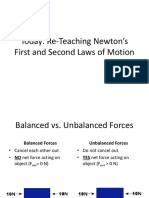 Newtons First and Second Laws Review2