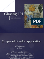 Intro to Ceramics Glazing