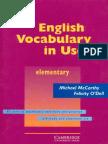 Cambridge - English Vocabulary in Use (Elementary) (1999).pdf