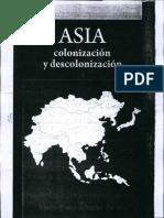 ASIA Colonización y Descolonización