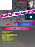 (Delaunay Triangulation)