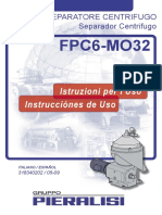 Manual de La Centrifuga Pieralissi