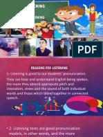 Teaching Listening Powerpoint