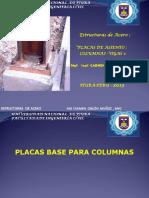 Tema 5 Placas de Asiento Columnas -Vigas