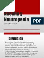 Anemia y Neutropenia