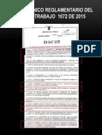 Informacion Decreto 1072 de 2015