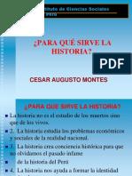 Por Que Enseñar Historia Del Peru