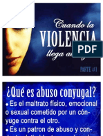 Cuando La Violencia Llega Al Hogar (1)