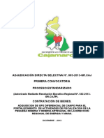 Bases Ads No 065-2013, Gps
