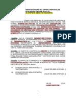 Formato de Minuta Eirl Aportes Bienes (Trabajo de Contabilidad)