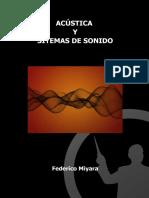 Lib_Acústica y Sistemas de Sonido - F. Miyara