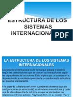 ESTRUCTURA DE LOS  SISTEMAS INTERNACIONALES