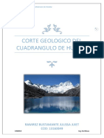 Informe Corte Geologico