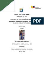 Julissa Perero Proyecto de Vida