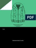ilustração técnica de moda
