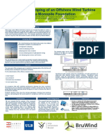 Poster OWI - Estimating Damping of an Offshore Wind Turbine on a Monopile Foundation