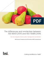 ISO 9001 2015 and ISO 13485 2016 Differences and similarities.pdf