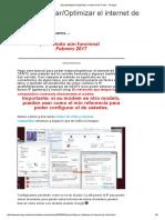 [Aporte] Mejorar_Optimizar El Internet de Cantv - Taringa!