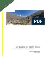 Arqueología Del Paisaje de Ollantaytambo