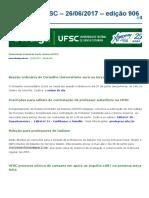 Notícias Da UFSC - 26-06