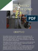 Penetrometro dinámico de cono (PDC)