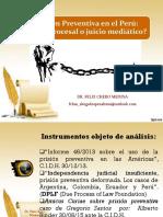 Analisis de Los Presupuestos de La Prisión Preventiva a Partir de La Casación 626-2016-Moquegua