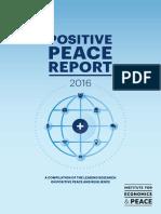 Positive Peace Report 2016