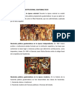 la hacienda Según El Marco Institucional Guatemalteco