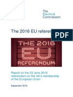 2016 EU Referendum Report