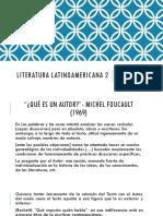 Qué es un Autor- M. Foucault
