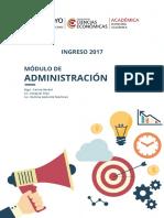 Administración Ingreso 2017 (Universidad de Cuyo)