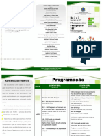 Folder_Reunião Pegagógica Folder