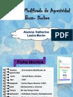 Inventario Modificado de Agresividad de Buss- Durkee