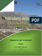 Boletin de Indicadores Ambientales - Moquegua