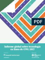 Informe Global 2017 sobre tecnonlogía en ONGs