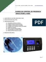 ENVIZ Manual de Usuario Completo