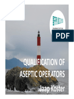 Aseptic Personnel Qualification