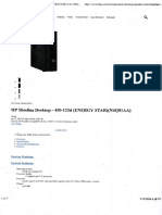 PC HP Pavilion 450-123d