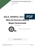 Spartakus FreeMann - Agla, Ararita - Iao et autres Mots de Pouvoir.pdf
