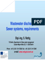 3. Wastewater Discharge Sewer Systems Requirements_Stefan Rettig