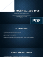 La Crisis Política 1930-1968