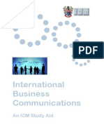 International Business Comm Icm