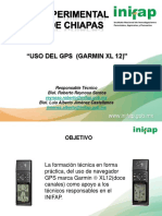 Presentación Uso Gps