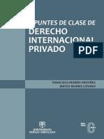 Apuntes de Clase de Derecho Internacional Privado