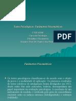 Requisitos Essenciais de Um Teste - Parâmetros em Psicometria
