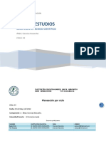 Plan de Estudios Ciencias Naturales Ciclo 03