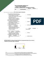 2016 Examen de Electronica i, II, III