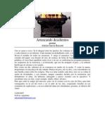 Arrancando Desalientos poemas Adrián García Bassetti