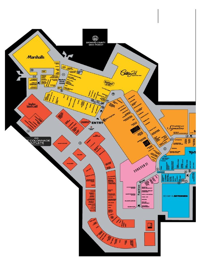 mapa sawgrass